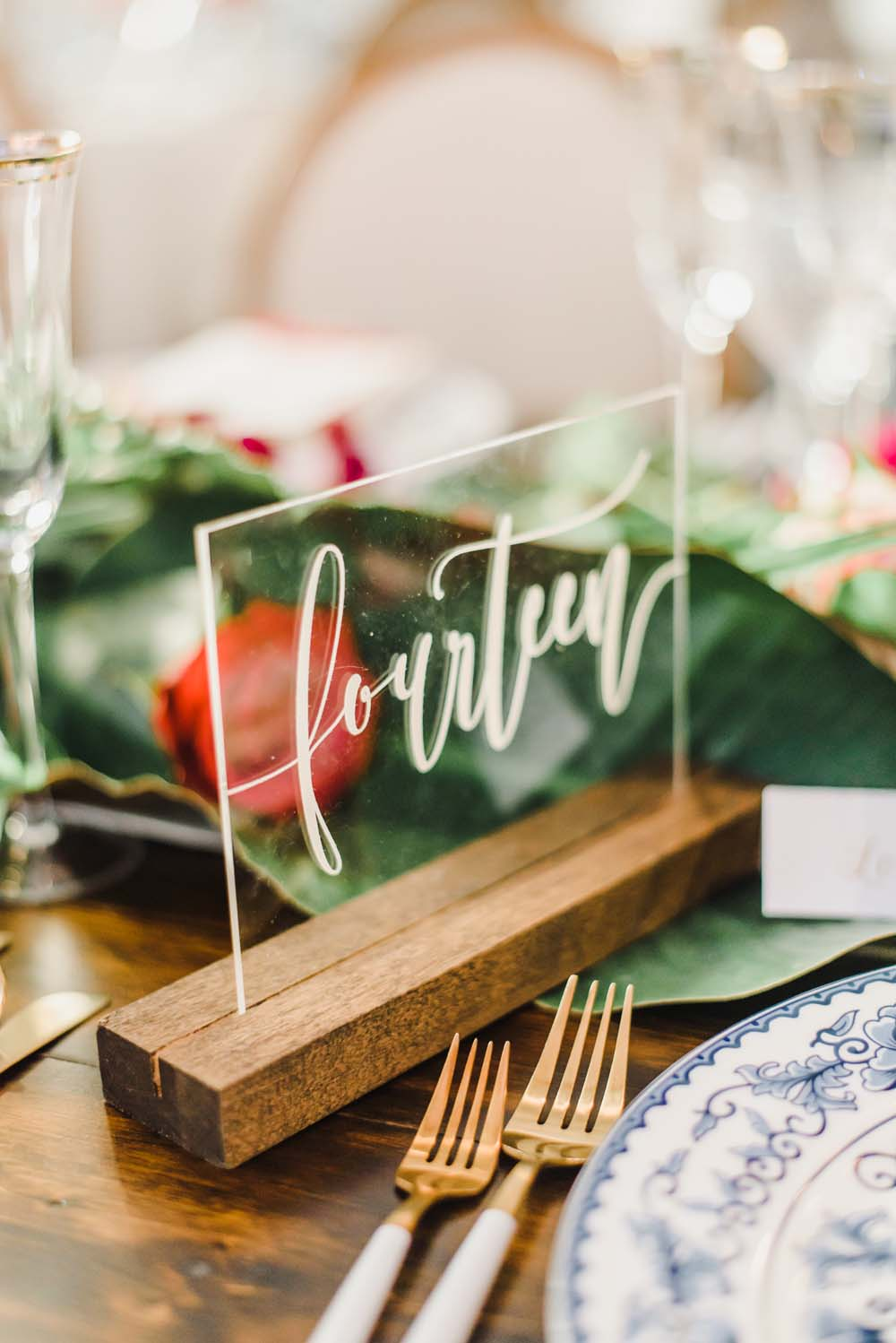 A Caribbean-Inspired Summer Wedding in Ottawa, Ontario - Table Number
