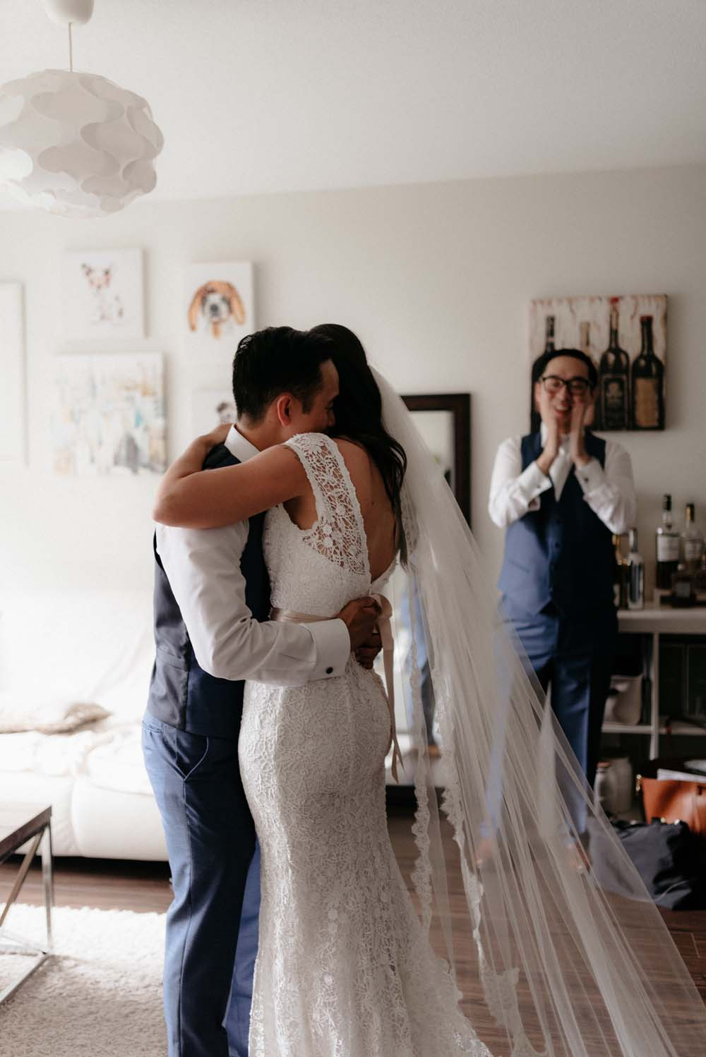 A Multicultural Wedding At The UBC Botanical Garden in Vancouver - first look