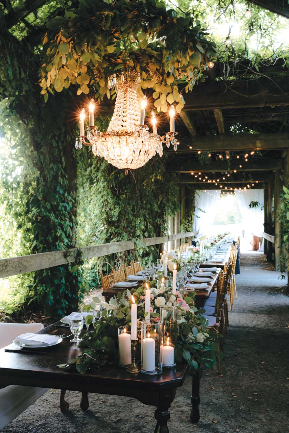A Multicultural Wedding At The UBC Botanical Garden in Vancouver - tablescape