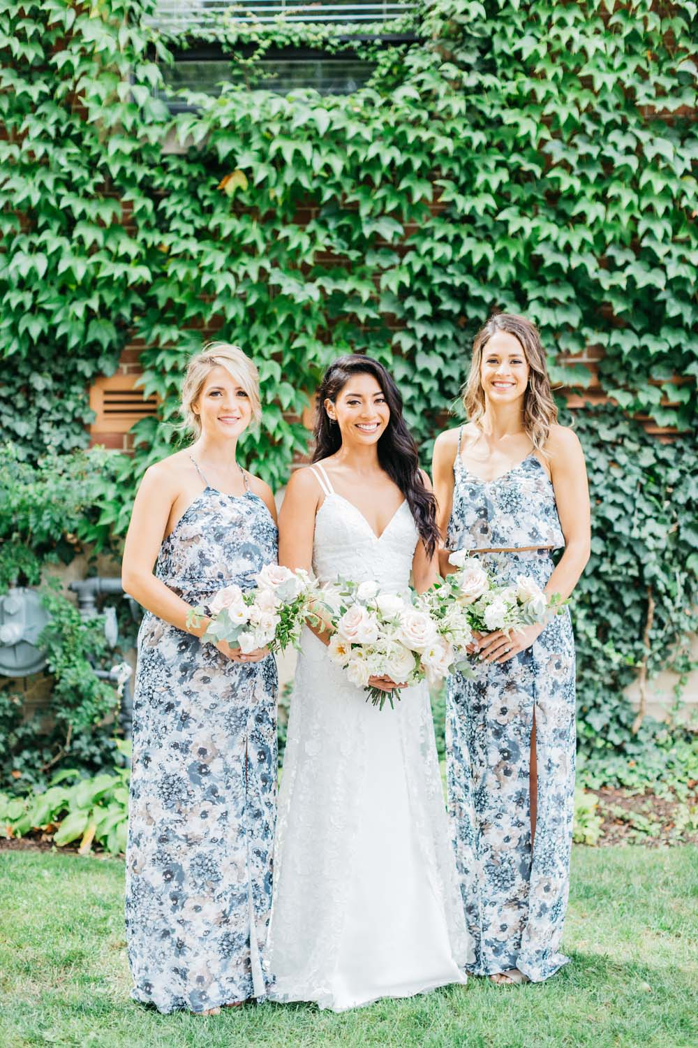 A Bright and Airy September Wedding in Toronto, Ontario - Bride and Bridesmaids