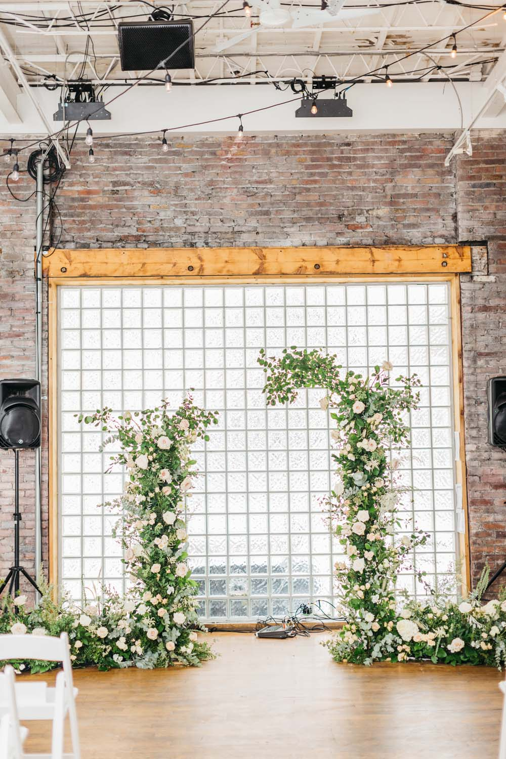 A Bright and Airy September Wedding in Toronto, Ontario - Ceremony Arch