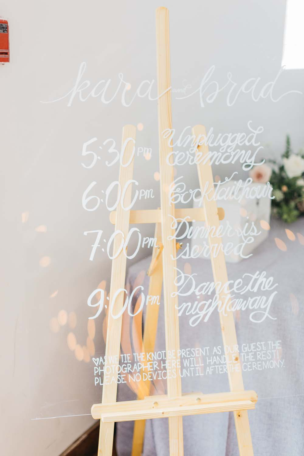 A Bright and Airy September Wedding in Toronto, Ontario - Wedding Signage