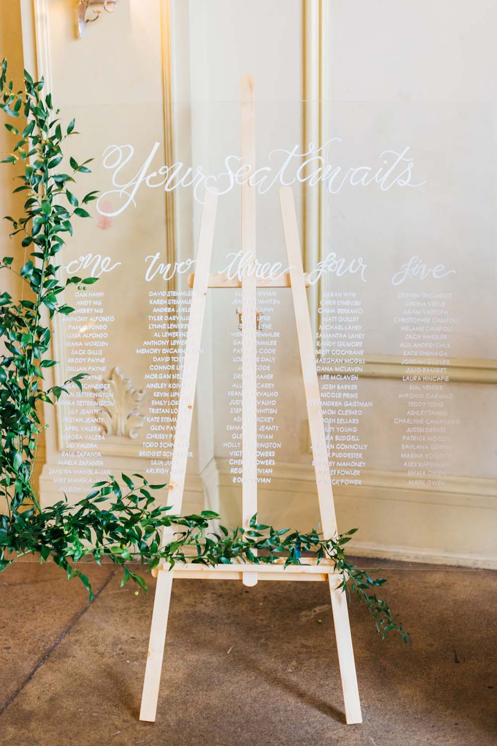 A Bright and Airy September Wedding in Toronto, Ontario - Seating Chart