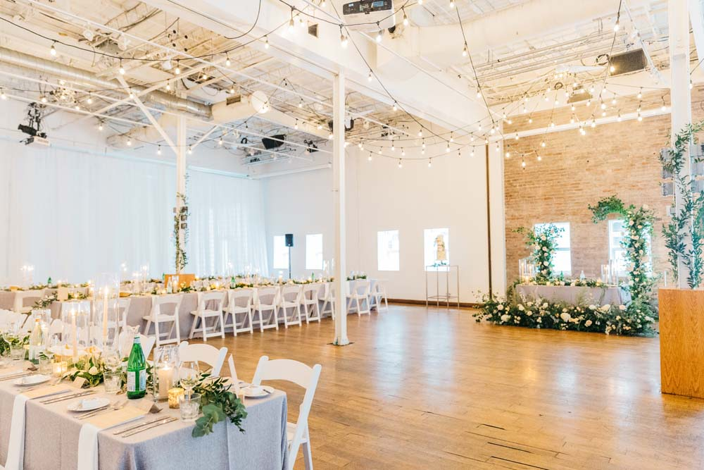 A Bright and Airy September Wedding in Toronto, Ontario - Reception Setup
