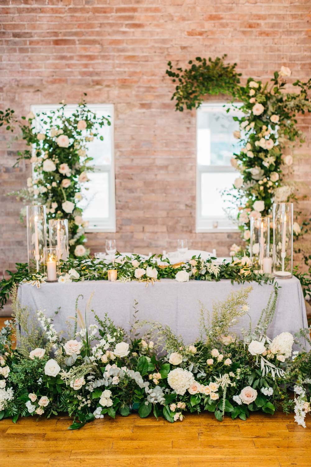 A Bright and Airy September Wedding in Toronto, Ontario - Head Table Decor