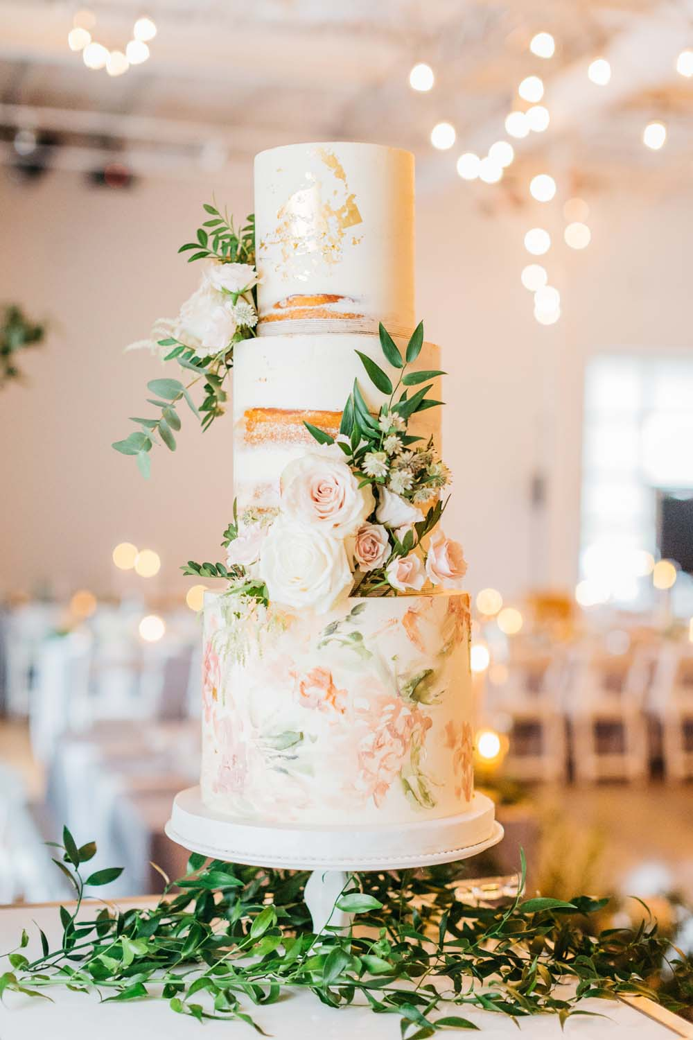 A Bright and Airy September Wedding in Toronto, Ontario - Naked Wedding Cake