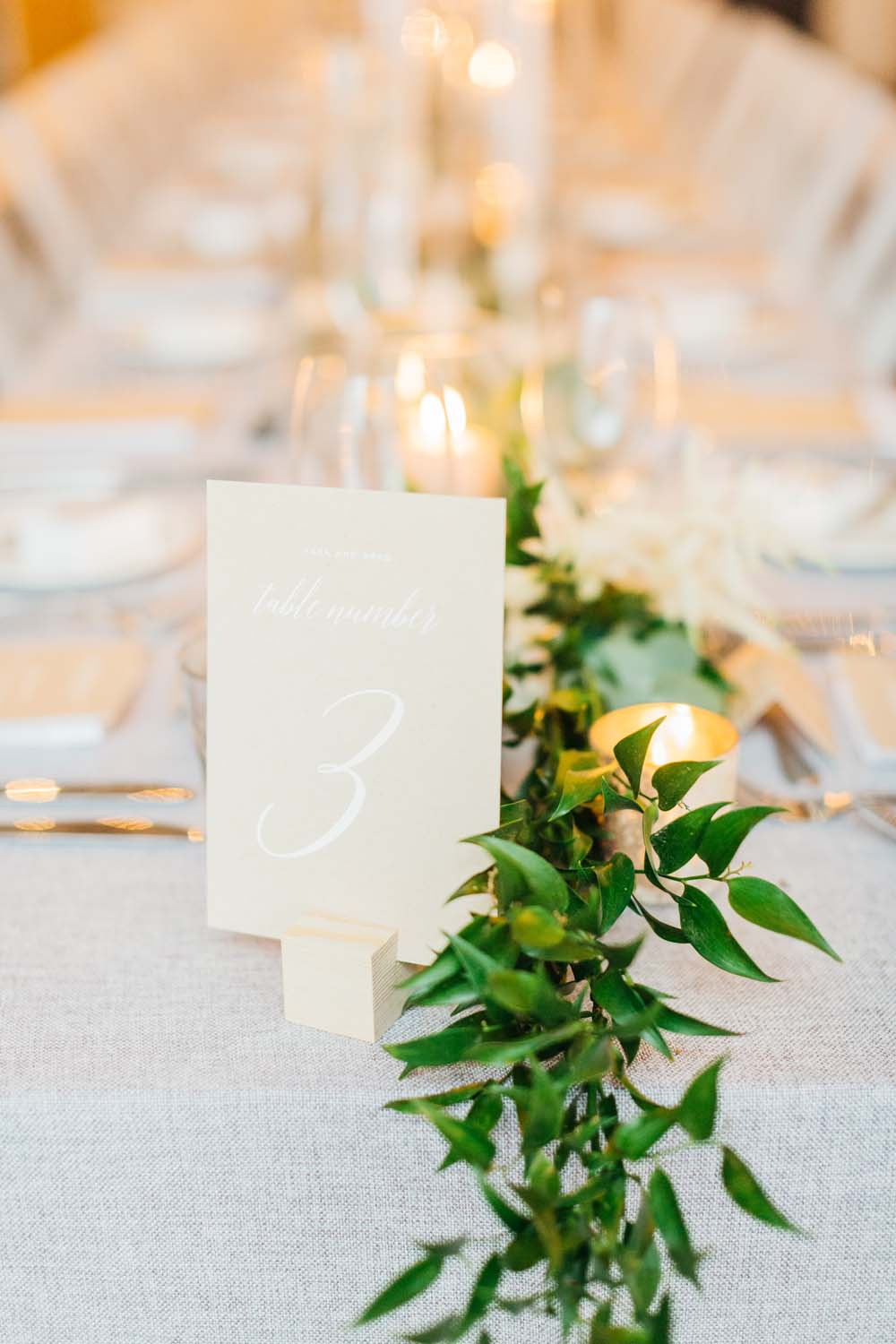 A Bright and Airy September Wedding in Toronto, Ontario - Table Numbers