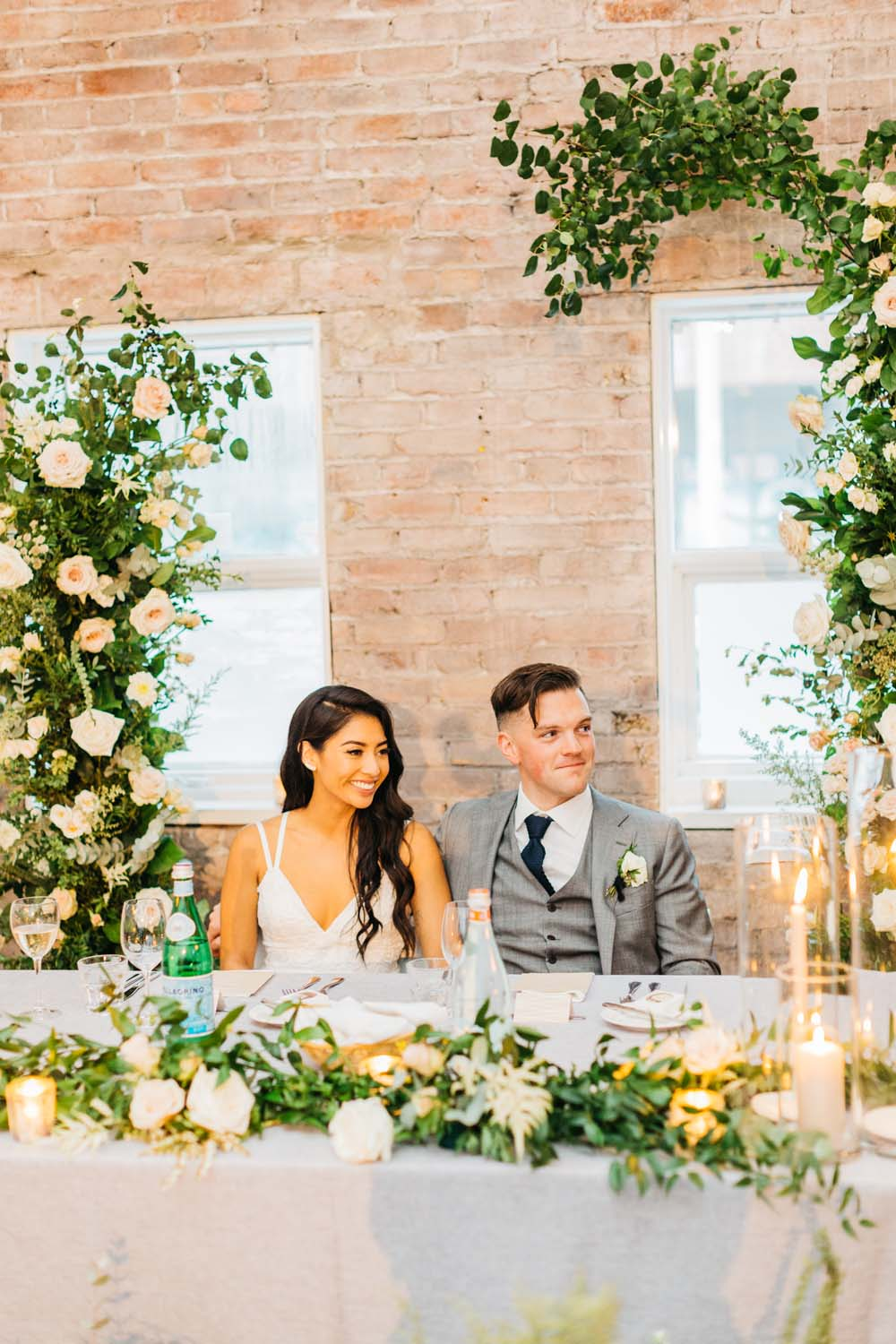 A Bright and Airy September Wedding in Toronto, Ontario - Newlyweds