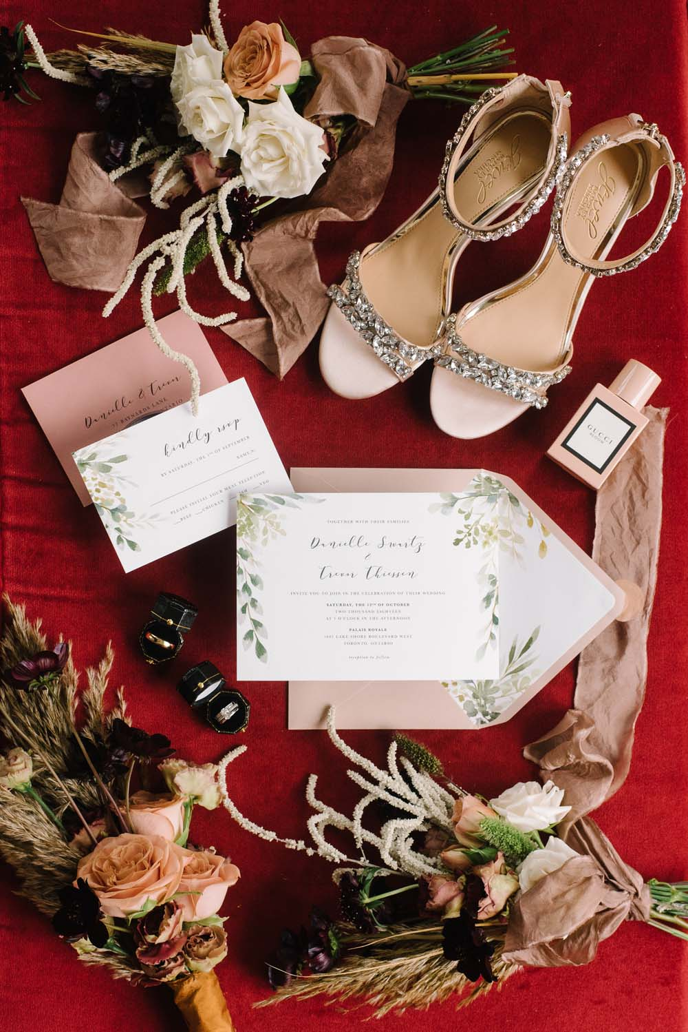 A Rustic Lakeside Wedding in Toronto, Ontario - Florals, Stationery and Accessories