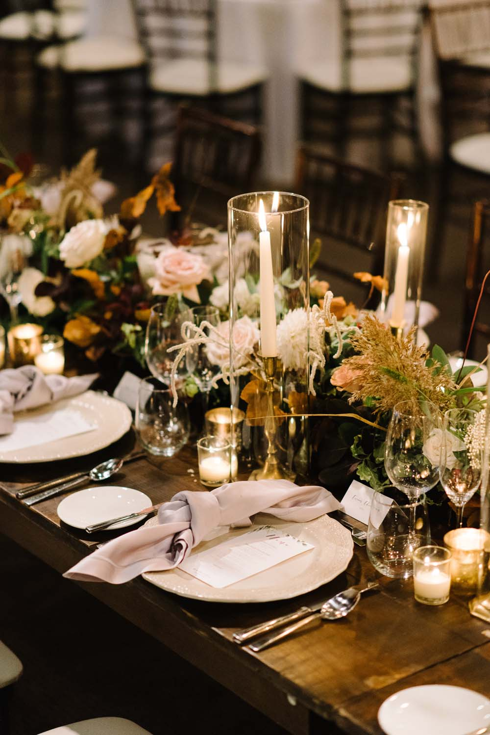 A Rustic Lakeside Wedding in Toronto, Ontario - Place Setting