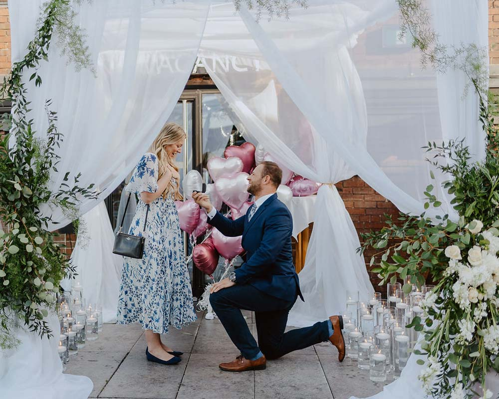 A Romantic, Magical Proposal in Toronto