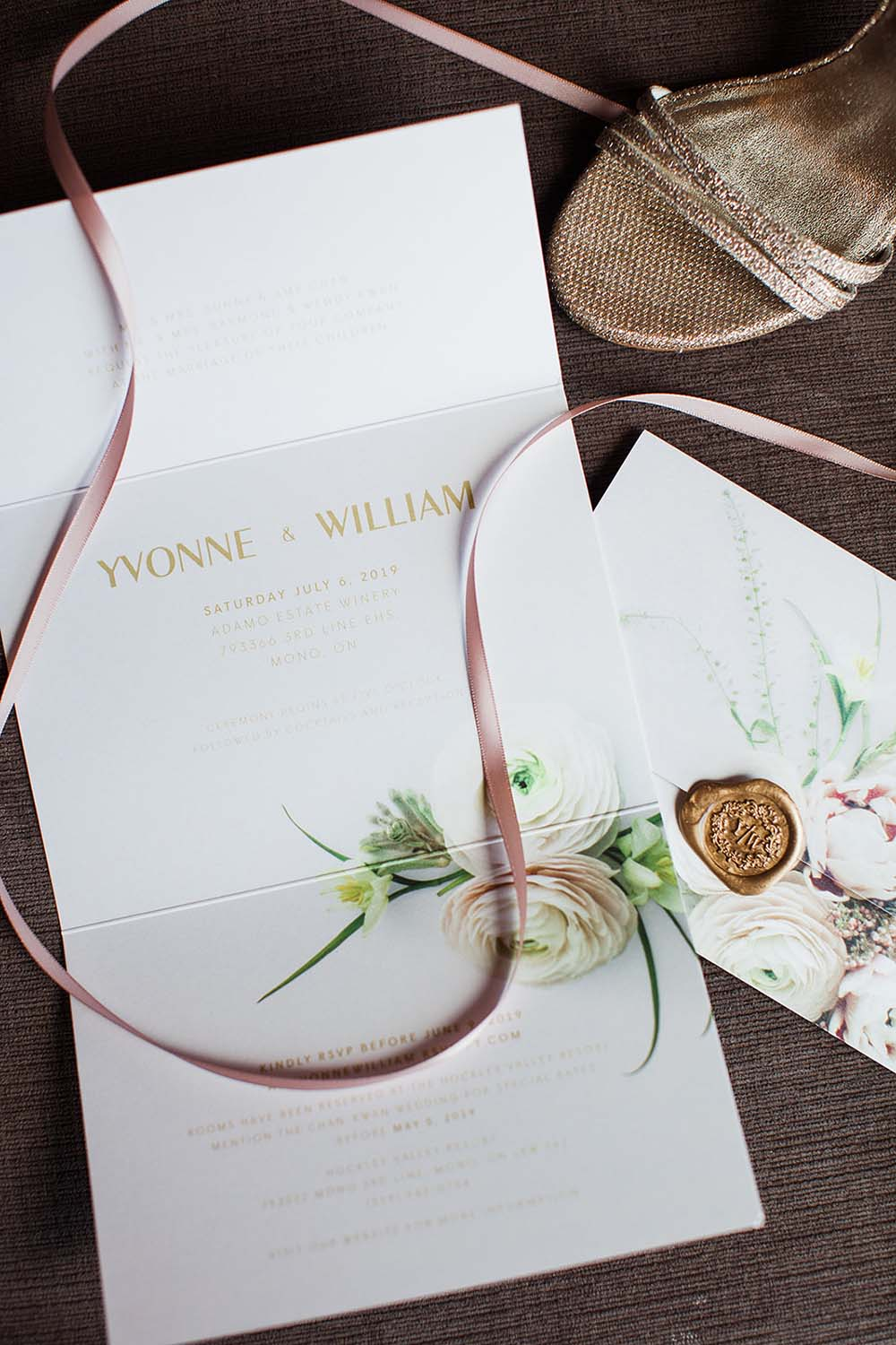 A Rustic, Romantic Blush Pink Wedding in Toronto, Ontario