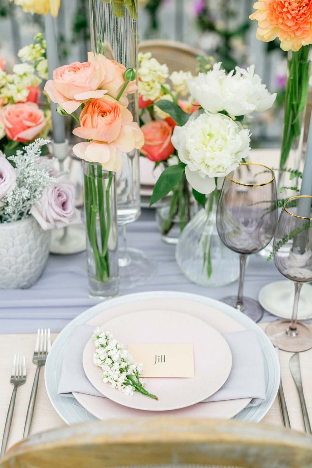 All The Beautiful Details You Need For A Modern, Floral-Filled Intimate Wedding