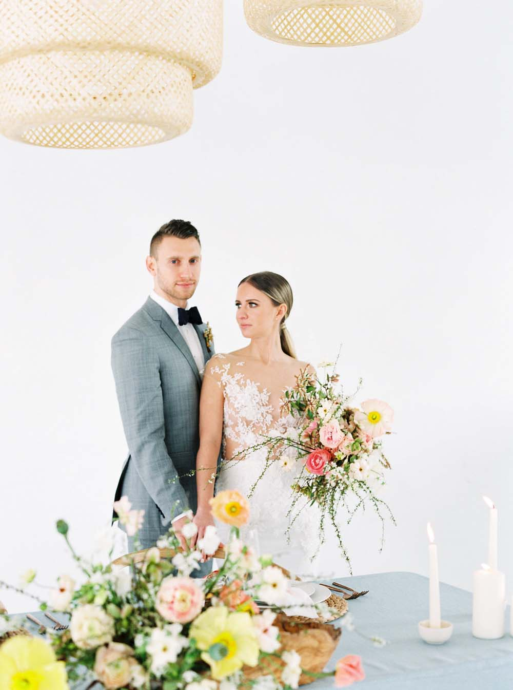The Prettiest Inspiration For A Colourful Micro-Wedding